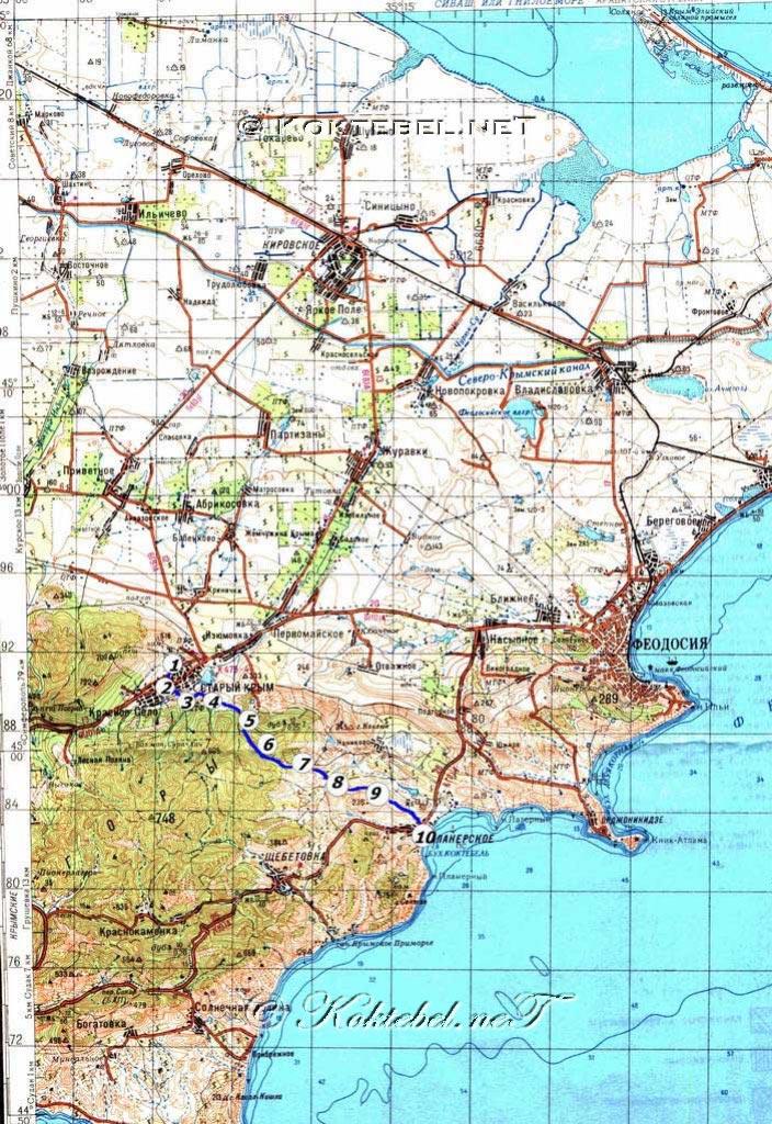 Старый Крым и Коктебель. С