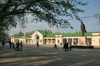 Железнодорожный вокзал г. Феодосия