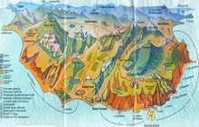 Карта Карадага, Коктебель