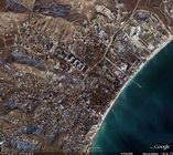 Вид со спутника Google, Коктебель, Крым