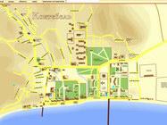 Flash-карта с поиском улиц, Коктебель, Крым