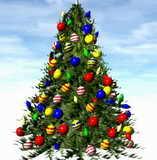 Новый год и Рождество в Коктебеле, Крым